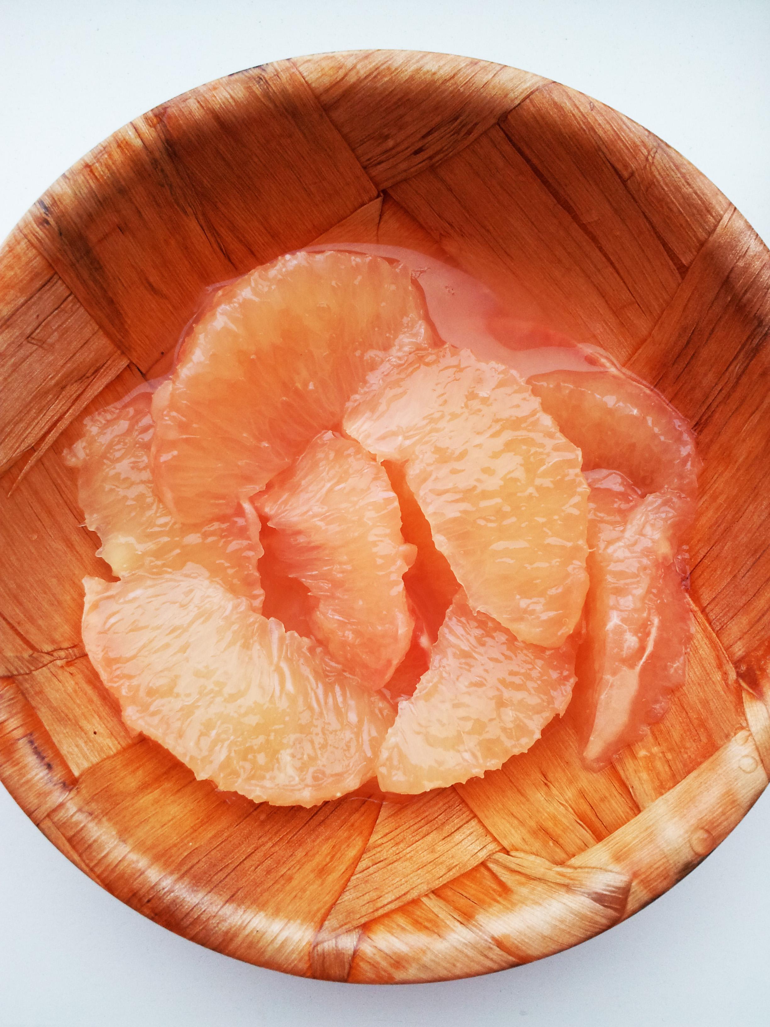 grapefruit segmenten