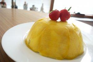 Mango mousse cake 芒果流沙蛋糕