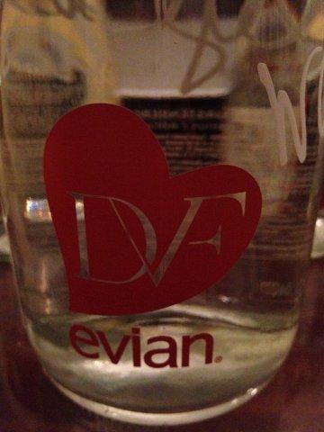 Diane von furstenberg en evian logo by kristy dames nl