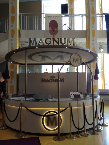 Magnum pleasure pop up store in den haag for Magnum pop up shop
