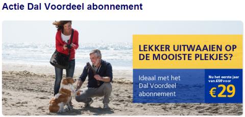 NS Actie: Dal Voordeel abonnement eerste jaar voor maar 29 euro ...: www.dames.nl/artikelen/2013/10/23/ns-actie-dal-voordeel-abonnement...