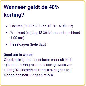 Met dit Dal Voordeel abonnement krijg je in de daluren 40% korting en ...: www.dames.nl/artikelen/2013/10/23/ns-actie-dal-voordeel-abonnement...