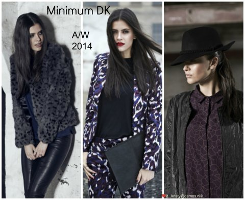 minimum dk autumn winter 2014 herfst kristy dames
